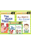 Too Much Tooting + All Dirty! All Clean! - I'm Going to Read 2 (Paperback:2+ CD:1)