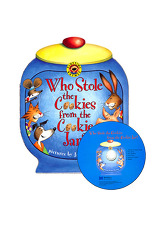 [노부영]Who Stole the Cookies from the Cookie Jar? (Board Book & CD Set)