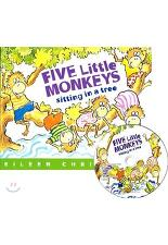 [노부영] Five Little Monkeys Sitting in a Tree (Paperback+ CD)