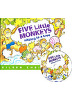 [노부영]Five Little Monkeys Sitting in a Tree (Board Book & CD Set)
