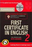 Cambridge First Certificate in English 2 with Answers : Official Examination Papers from University