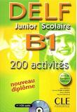 DELF B1 JUNIOR SCOLAIRE : AVEC LIVRET DE CORRIGES (1CD AUDIO)