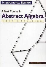 First Course in Abstract Algebra 7/E(Paperback)