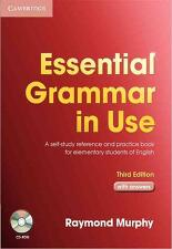 Essential Grammar in Use with Answers and CD-Rom 3/E